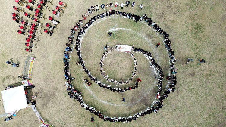 Journée internationale de la Nonviolence à Quito : « La nonviolence est mon choix »