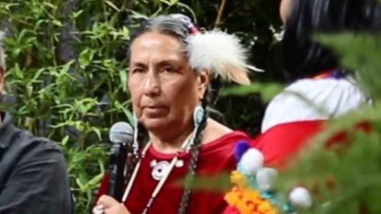Casey Camp Horinek, activiste écologiste des peuples autochtones, au festival CLIMAX 2019