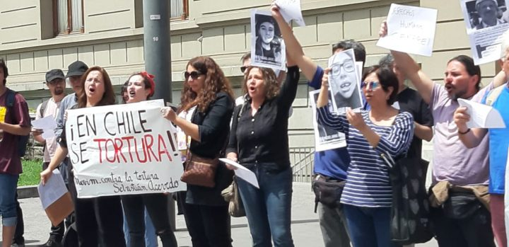 La no-violencia activa del Movimiento contra la tortura Sebastián Acevedo [Chile]