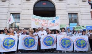 Arranque de la 2.ª Marcha Mundial Por la Paz y La Noviolencia