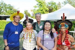 Des indiens d'Amazonie et peuples indigènes parfois en voie de disparition forcée