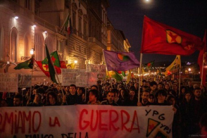 Il 19 ottobre a Firenze, in Piazza contro l'aggressione turca in Siria del Nord