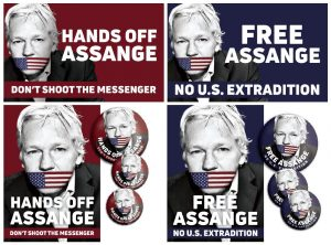 Letter to Julian Assange from NoWar2019