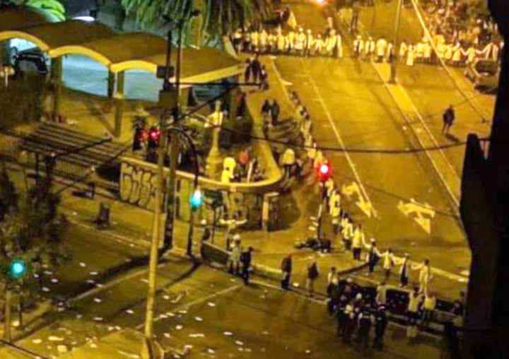 Ecuador: nonviolent sounds and gestures close the tenth day of protests