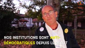 Entrevista con Etienne Chouard: Referéndum de Iniciativa Ciudadana (RIC), ¿Corrector democrático? (2/3)