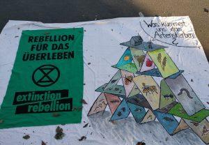 Extinction Rebellion en Berlín – La noviolencia en primer lugar
