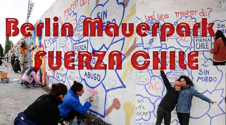 Fuerza Chile - Solidarität aus Berlin