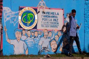 Murales por la paz en Colombia