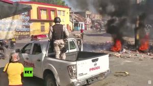 Nas ruas, o Haiti resiste à sanha neocolonial