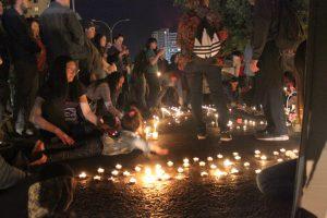 Chile: Velatón por las víctimas de la represión