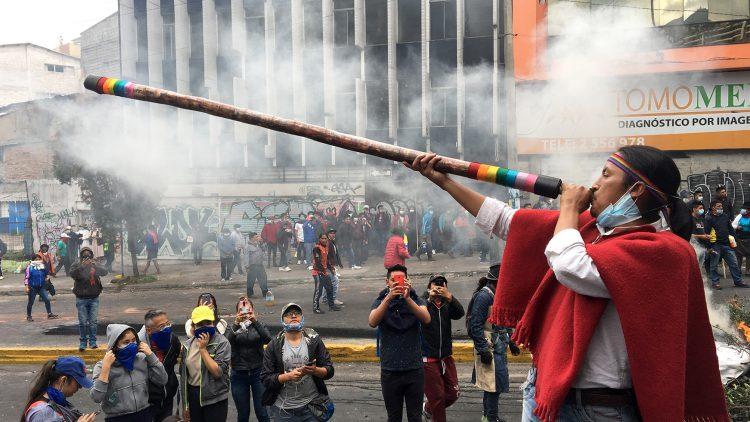 Ecuador: la resistencia continúa