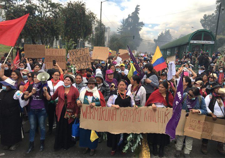 Εκουαδόρ: πορεία γυναικών στο Κίτο