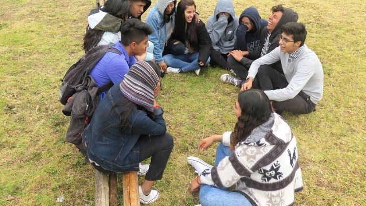 Jóvenes promotores de la no-violencia activa