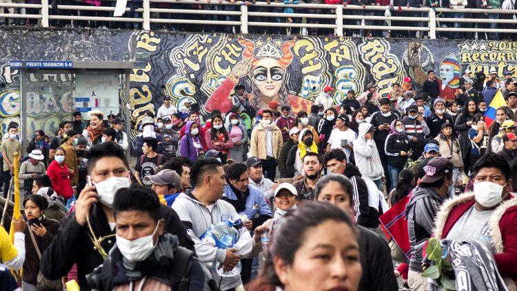 Équateur : brève note sur la neuvième journée des mobilisations contre les mesures économiques