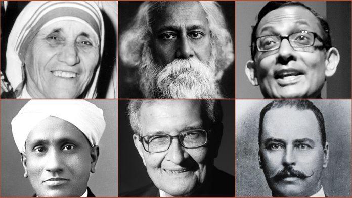 Die Gewinner des Nobelpreises von Kolkata