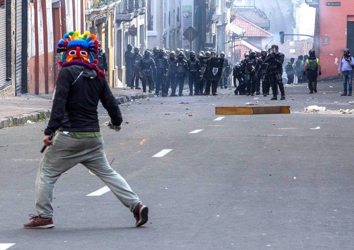 La tensión va ganando terreno en Ecuador