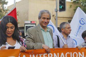 """Mario Aguilar: """"La violencia parte de los poderosos. Cuidémonos entre nosotros"""""""