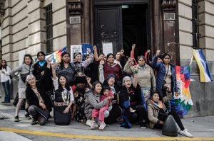 Mujeres indígenas autoconvocadas: última noche de ocupación pacífica