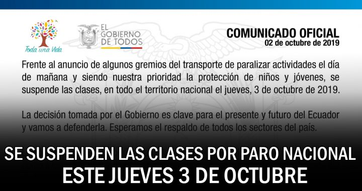 Ecuador: medidas económicas y paro de transportistas