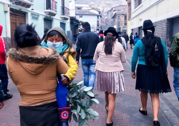 Proseguono le dimostrazioni nel centro di Quito