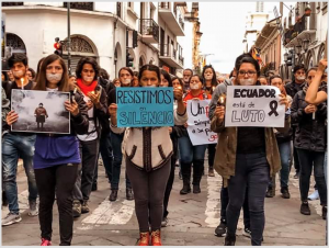 """Εκουαδόρ: """"Αντίσταση μέσω της σιωπής"""""""