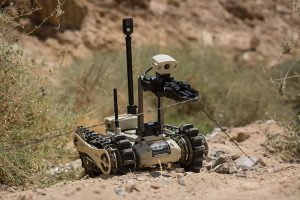 Da Israele in Italia quaranta Carabinieri Robot