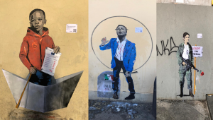 Tvboy torna a Firenze: tre nuovi murales nel cuore della città
