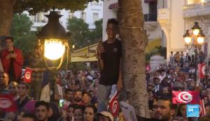 """Túnez ensaya una nueva """"primavera"""""""