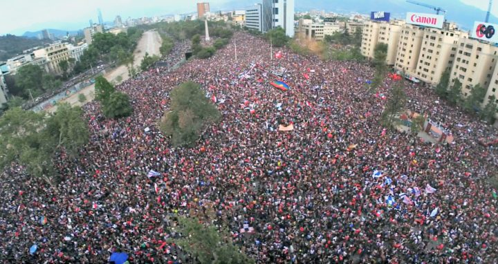 People taking to the streets in all continents demanding a humanised system