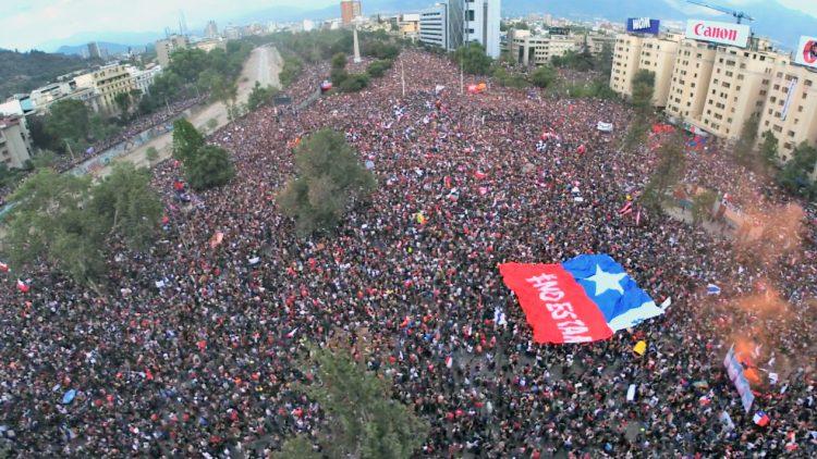 Santiago de Chile am 25. Oktober – Fotoreportage