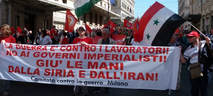 Presidio contro l'invasione della Siria. Giù le mani dallaSiria