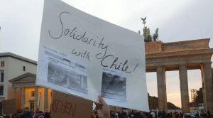 Über 1000 Menschen in Berlin auf Kundgebung für Chile