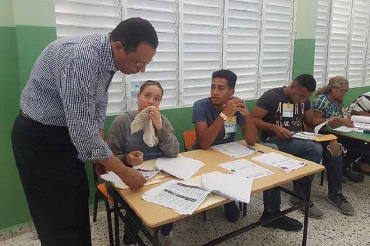 Elecciones primarias dominicanas marchan con normalidad (+Fotos)