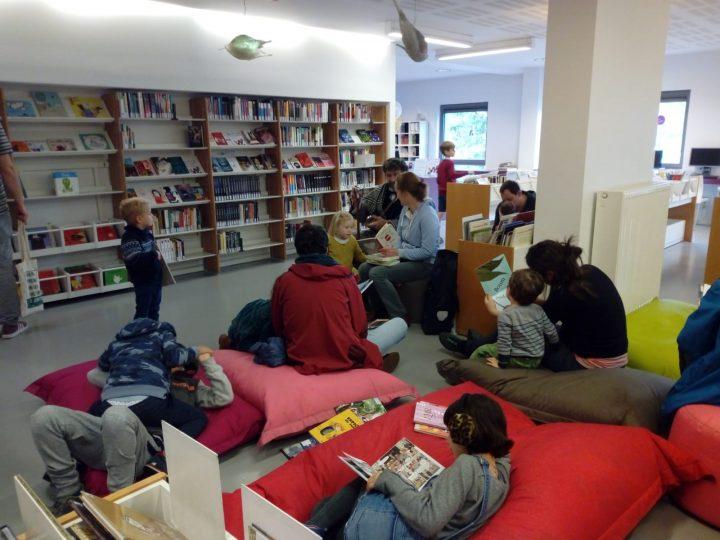 Schaerbeek festeggia i 10 anni della nuova biblioteca