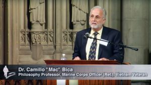 "True to the word: An interview with Camillo ""Mac"" Bica, PhD. – Coordinator of Veterans for Peace-Long Island"