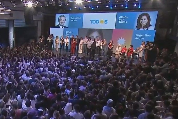 Alberto Fernández wins the elections and is the president-elect of Argentina