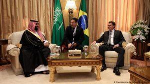 """""""Aproximação de Bolsonaro com sauditas é parte do alinhamento com os EUA"""""""