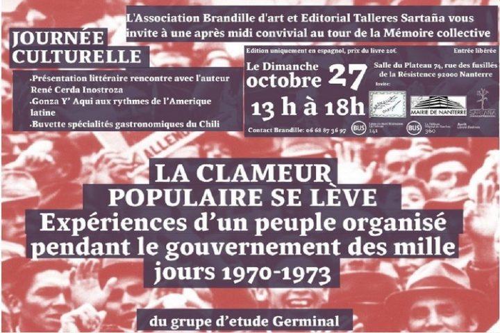 « La Clameur Populaire se  Lève »