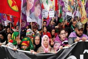 Le donne WILPF Italia per il Rojava