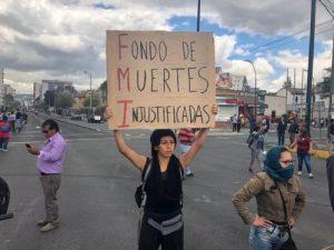 Ecuador: Toque de queda y la gente resiste