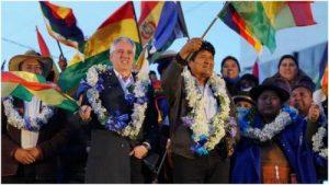Los verdaderos demócratas deben reconocer la victoria de Evo Morales