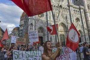 Le foto della manifestazione per il Kurdistan a Firenze