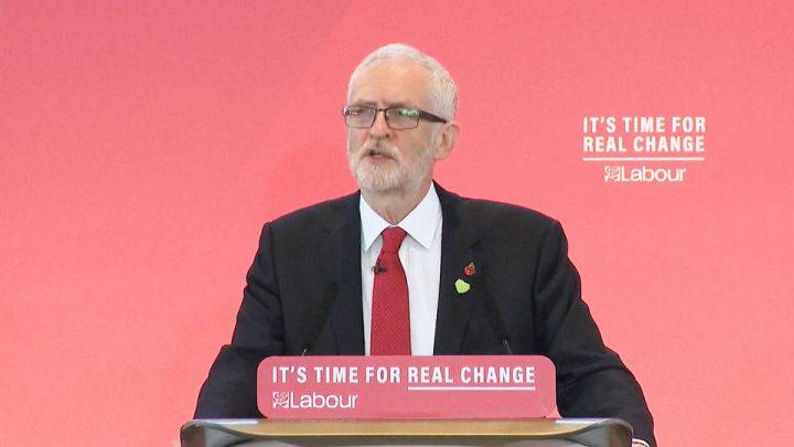 U.K. Labour Leader Jeremy Corbyn to Challenge PM Boris Johnson in Dec. 12 Election
