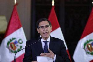 Perù. Il presidente Martin Vizcarra scioglie il Parlamento