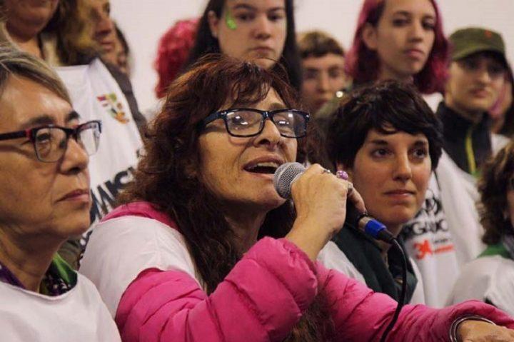 Con el grito de Ni una menos, abre encuentro de mujeres argentinas (+Fotos)