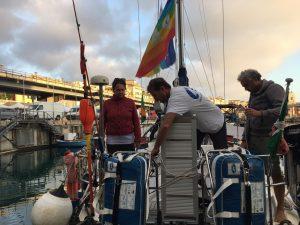 Mediterraneo Mare di Pace: il diario di bordo