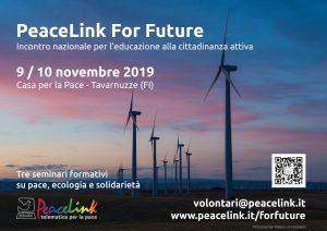 PeaceLink For Future: tre seminari formativi alla Casa della Pace a Tavarnuzze
