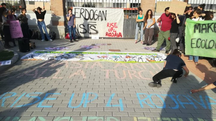 Climate, migrants, Rojava: a turn