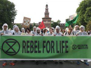 Marco Bertaglia: Extinction Rebellion vuole una rivoluzione colorata, collettiva, di amore per la nostra terra