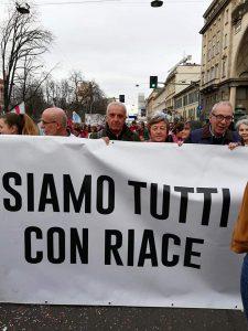 A un anno dall'arresto di Mimmo Lucano, il Comitato Undici Giugno-Milano rilancia la campagna per Riace